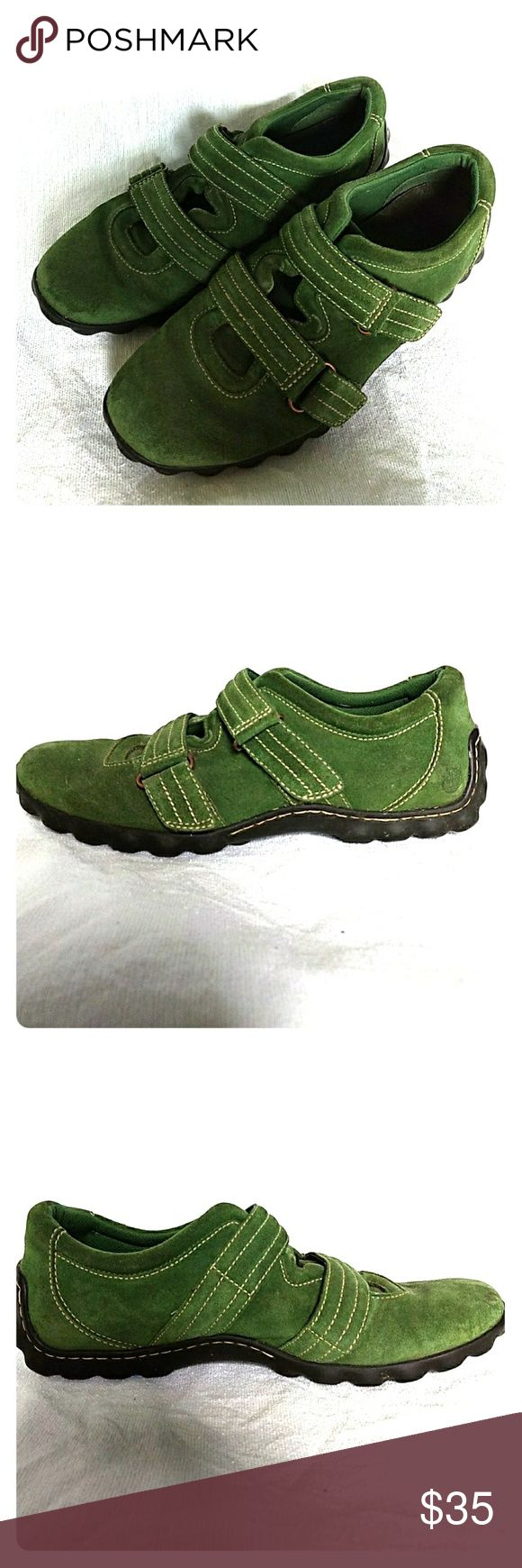 Timberland green suede walking shoes Green suede fashion walking sneakers Timberland Shoes Sneakers