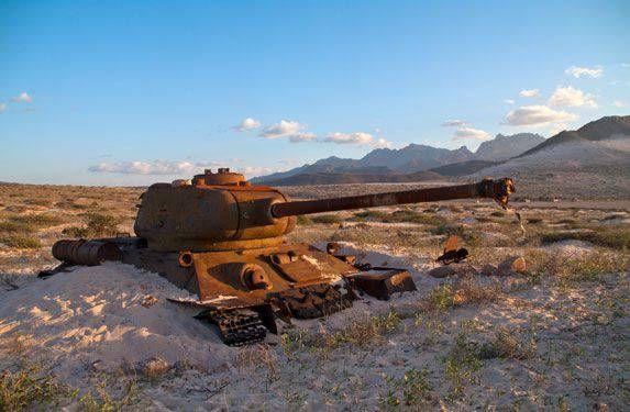 Т-34 острова Сокотра