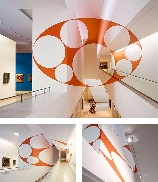 Anamorphic Illusions by Felice Varini