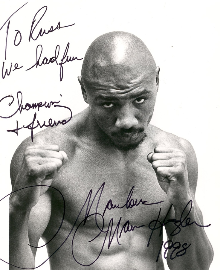 Perhaps the best prize fighter that the world has ever seen - Marvelous Marvin Hagler