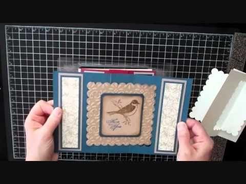 How To Make A Twist Turn Card - YouTube