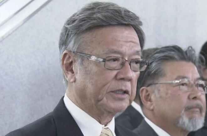 沖縄県知事の翁長雄志さんの髪型がベレー帽みたいwwwwwww