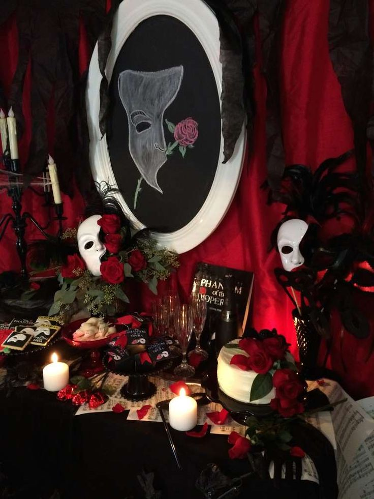 17 Best images about Phantom of the Opera Theme on