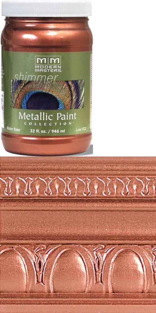 Paint Thinner and Solvents 30554: Modern Masters Me195-32 Metallic Copper 32Oz Household Paint Solvents, New -> BUY IT NOW ONLY: $32.83 on eBay!
