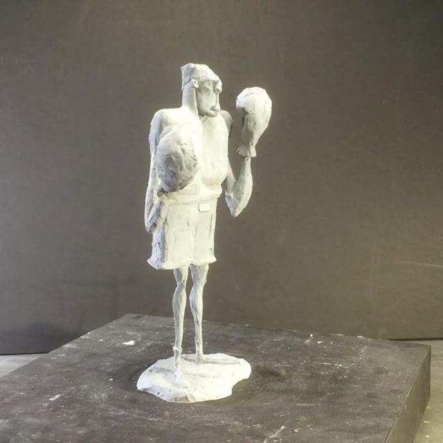 The Boxer - design by Barney Marquez #amimation #movie #design #art #artoftheday #artwork #sculpture