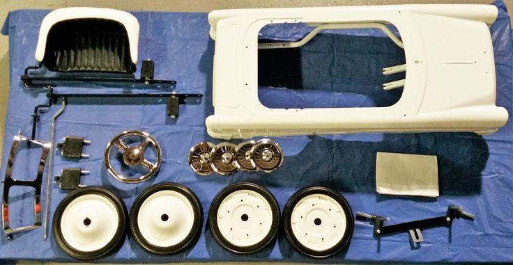 55 Classic Pedal Car Kit - PedalCar.com