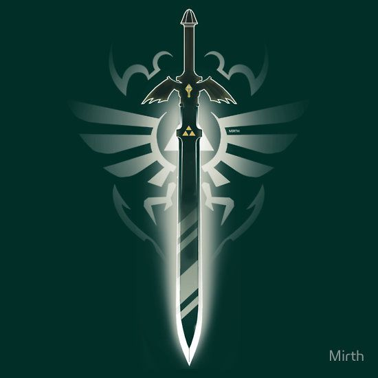 """Master Sword solo"" T-Shirts & Hoodies by Mirth 