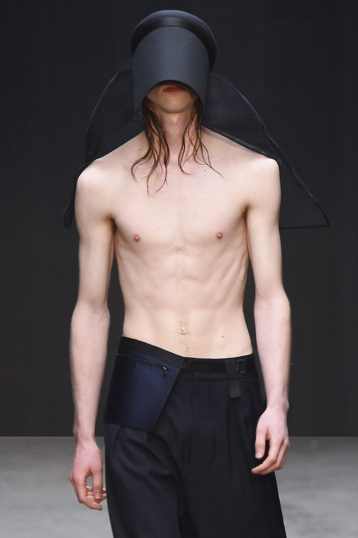 Rory Parnell-Mooney for MAN FW15. Straight from his MA collection at Central Saint Martins to London Collections: Men.