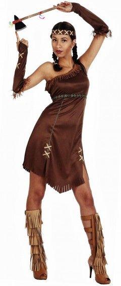 Ce déguisement d'indienne sexy sera parfait pour rallumer la flamme de votre moitié :) Matière souple et légère qui imite à merveille le cuir !