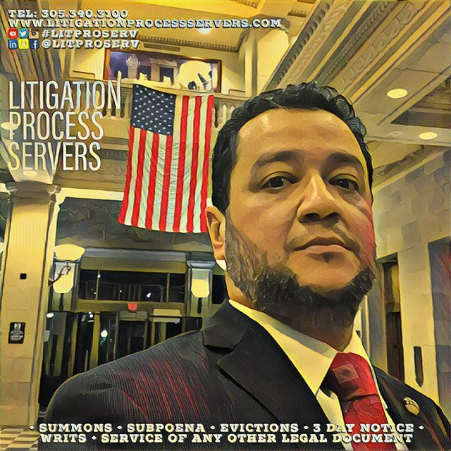 Thank you for your support and referrals! I am here to SERVE! #litproserv #litigation #subpoenas #summons #3daynotice #evictions #notices #letters #iamheretoserve #dcch #miami