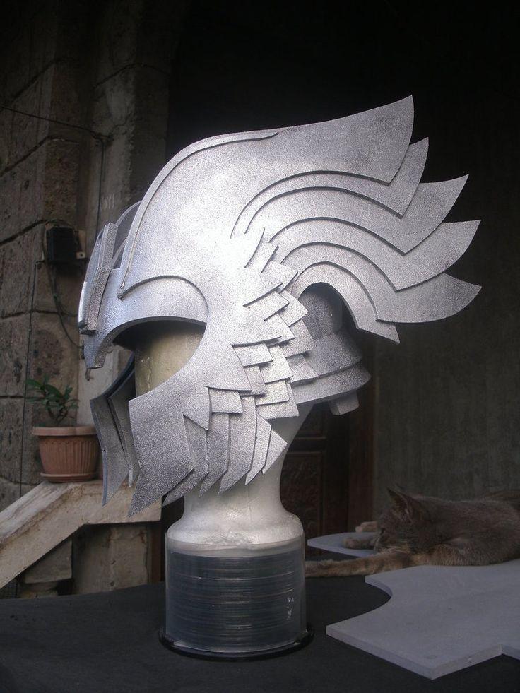 thor Helmet side view by pagawanaman on deviantART