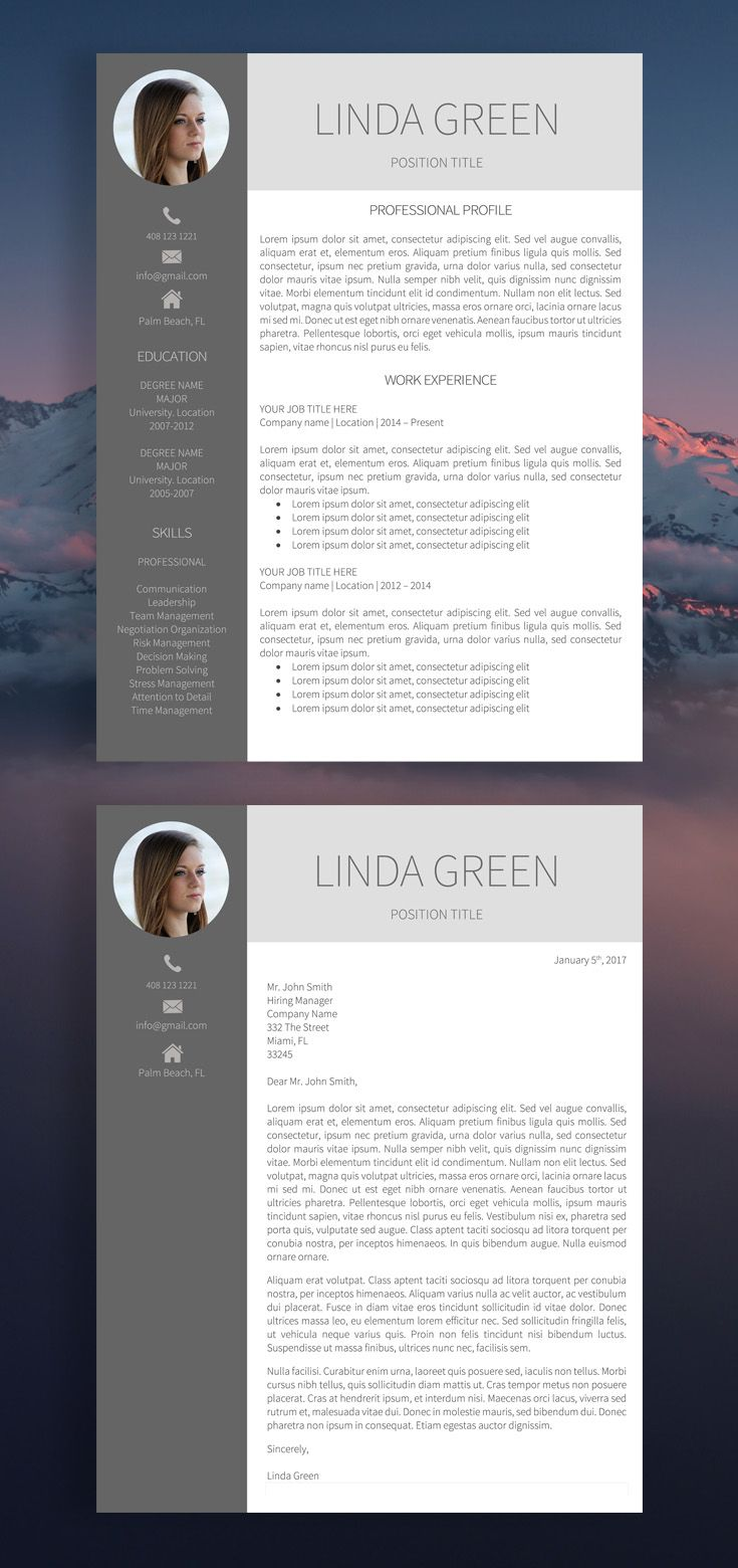 federal resume examples it specialist%0A Resume  Resume Template  Modern Resume Template  Professional Resume  Template  CV  CV