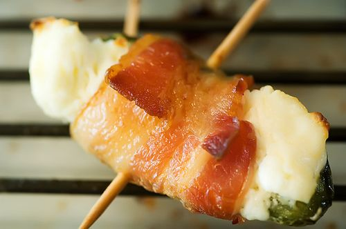 Bacon-Wrapped Jalapeno Poppers: Fun Recipe, Bbq Sauces, Food, Pioneer Women, Jalapeno Poppers, Bacon Wraps Jalapeno, Stuffed Peppers, Cream Cheeses, Baconwrap