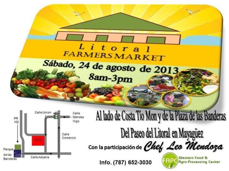 Mercado Agrícola del Litoral: Agosto2013 @ Mayagüez #sondeaquipr #mercadoagricoladellitoral #mayaguez
