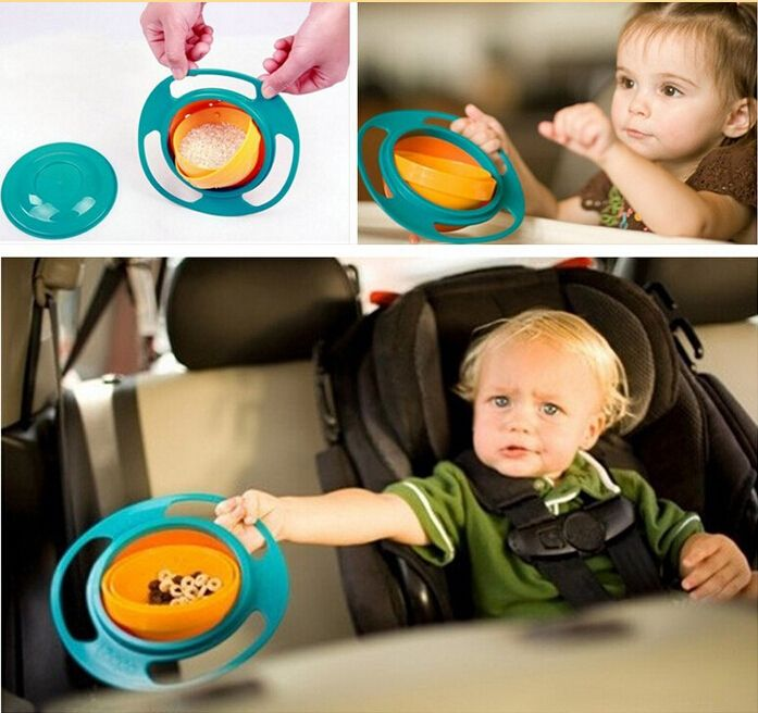 Find More Dishes Information about Baby Learning Dishes Baby Toy universal bowl 360 degree rotate spill proof bowl dishes non spill feeding toddler Drop Shipping,High Quality Dishes from Baby items from Factory-wholesale better price on Aliexpress.com