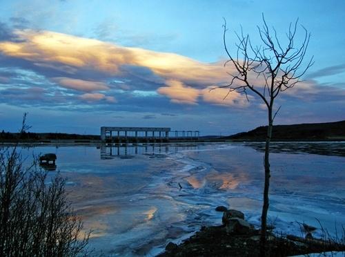 Ghost lake, Cochrane, Alberta, Canada
