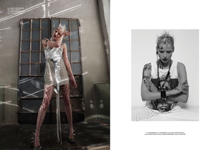 editorial for Tirade magazine 3 Photographer: Marco Marezza Stylist: Luigi Gaballo