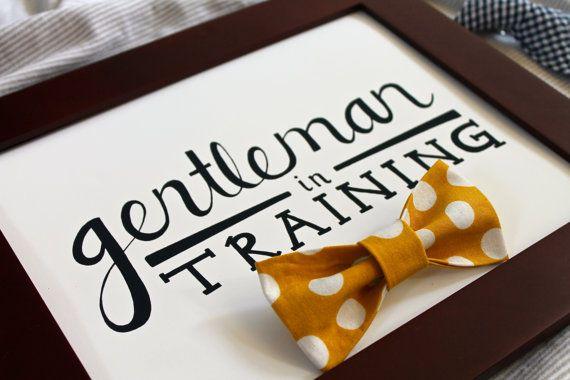 Gentleman in Training 8 x 10 Art Print by JourneyJoyful on Etsy, $7.00