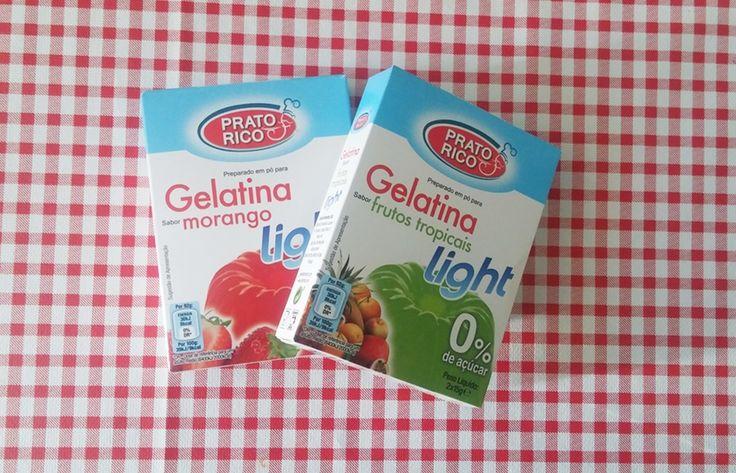 Resultado de imagem para gelatina prato rico light