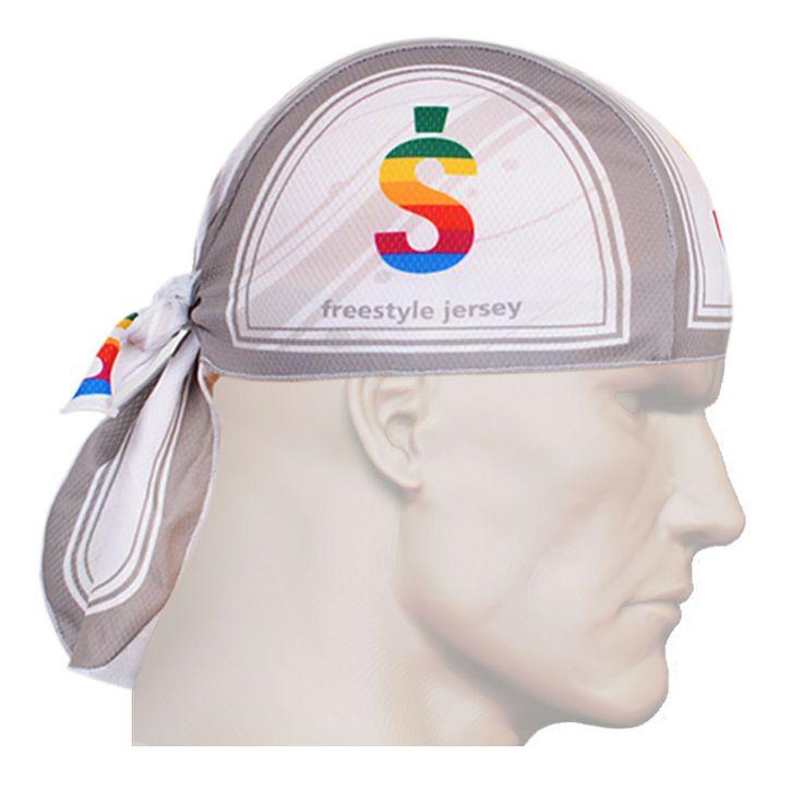 ZIPRAVS - Fixgear Running White Grey Bandana Headband Scarf Wrap Bandanna, $12.99 (http://www.zipravs.com/fixgear-running-white-grey-bandana-headband-scarf-wrap-bandanna/)