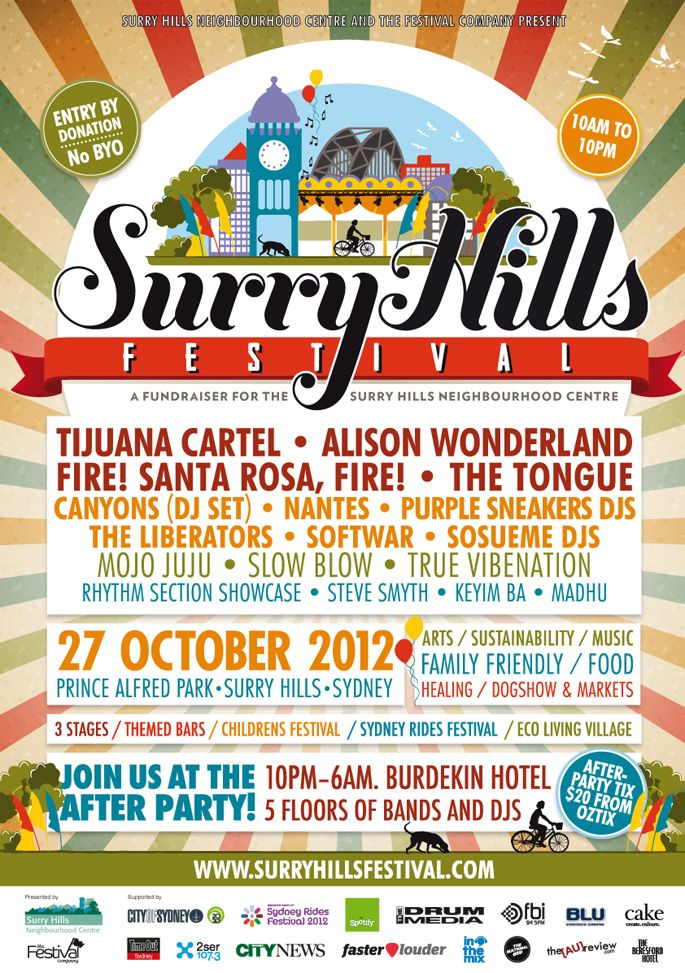 Surry Hills Fest #thedrawingarm