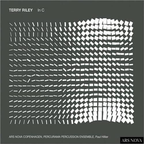 In C : Terry Riley 1964  Riley's In C is a composition with a set of instructions rather than a  score per se; a semi-aleatoric musical piece composed in1964 for any number of people, (35 is desired if possible).  It consists of 53 short, numbered musical phrases; each phrase may be repeated an arbitrary  number of times. Each musician has control over which phrase he or she plays: players are encouraged  to play the phrases starting at different times, even if they are  playing the same…