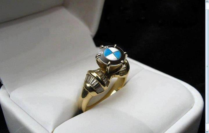 BMW Style wedding ring Cool Stuff, BMW style Pinterest