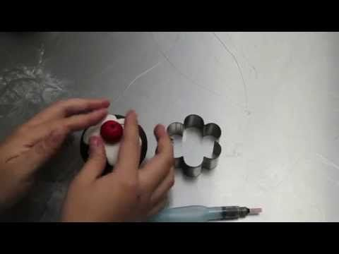Learn With Sharon Wee - Cute Cherry Cupcake - YouTube
