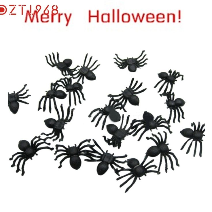 0.31$  Watch more here - DZT6 Joking slime Toys Halloween gadget funny Realistic Plastic Black Spider for decoration Best Seller drop ship S45   #bestbuy