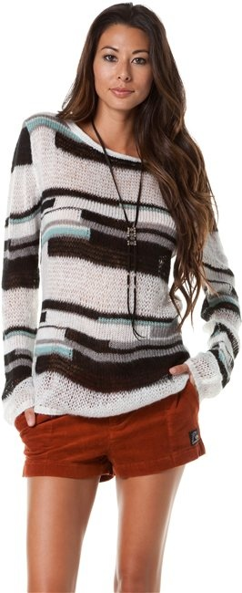 QUIKSILVER GIRLS THICK AND THIN SWEATER > Womens > Clothing > Sweaters | Swell.com