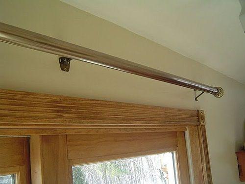 Curtain Rods best way to install curtain rods : 17 melhores ideias sobre Installing Curtain Rods no Pinterest ...