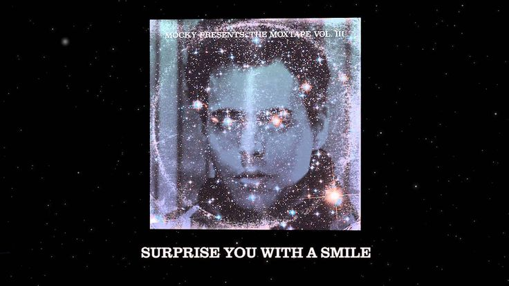 Mocky - Surprise you with a smile - has elements of LCD Soundsystem Someone Great