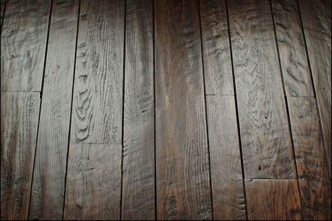 floor tiles that look like hand scraped wood | Hand-scraped Wood Floors | woodflooringtrends: