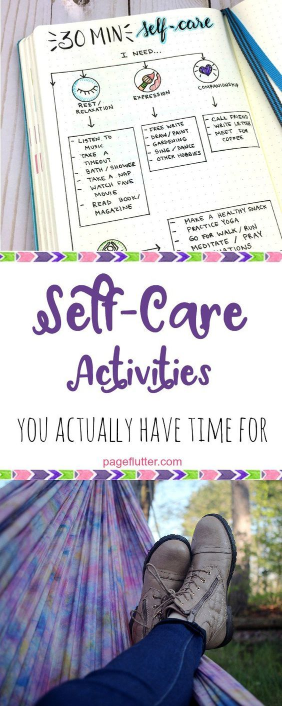 30 minute self-care activities to boost productivity.