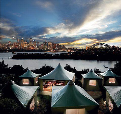 view from the Toronga zoo, Sydney Australia