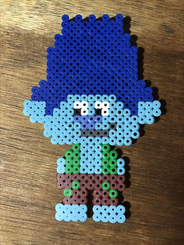 Branch Troll - Perler Bead Pattern - Trolls
