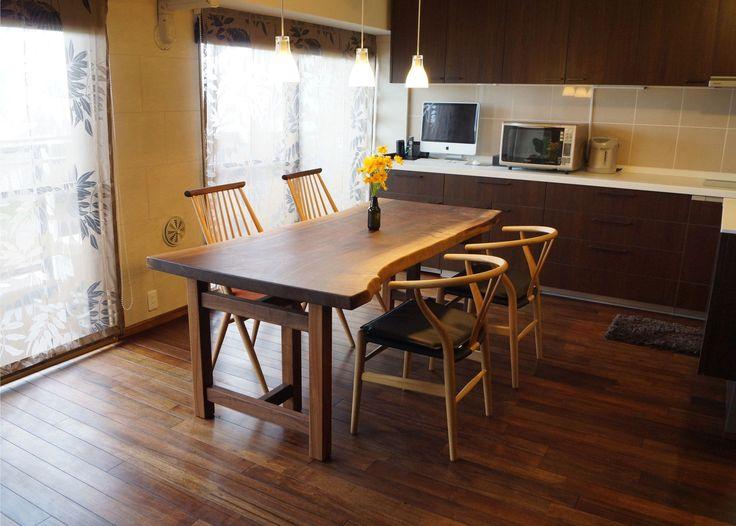 一枚板のテーブル きくら - 一枚板のテーブル きくら 広島