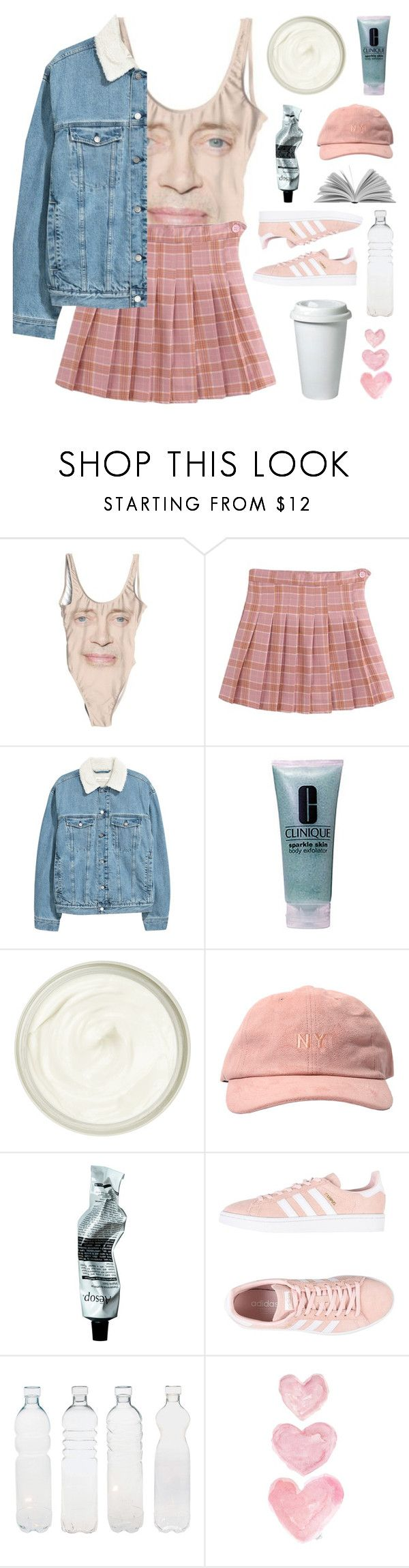 """i'm hollywood actor and teen idol steve buscemi"" by megan-vanwinkle on Polyvore featuring Clinique, Susanne Kaufmann, Aesop, adidas Originals, Seletti, WALL, polyvoreeditorial and powerlook"
