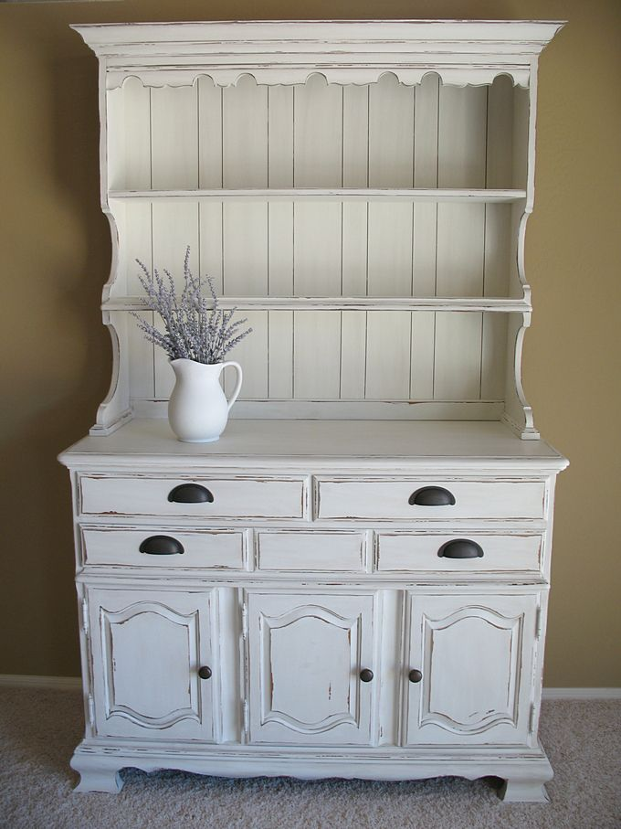 best 25+ white hutch ideas on pinterest