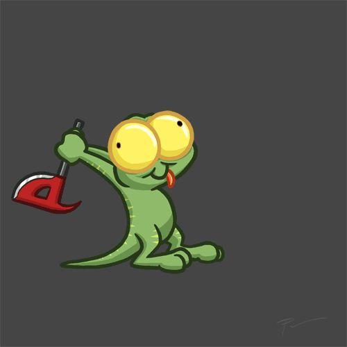 "Oskar Pannier on Twitter: ""Crazy Lurch is crazy! @Gronkh #Lurch #animation ..."