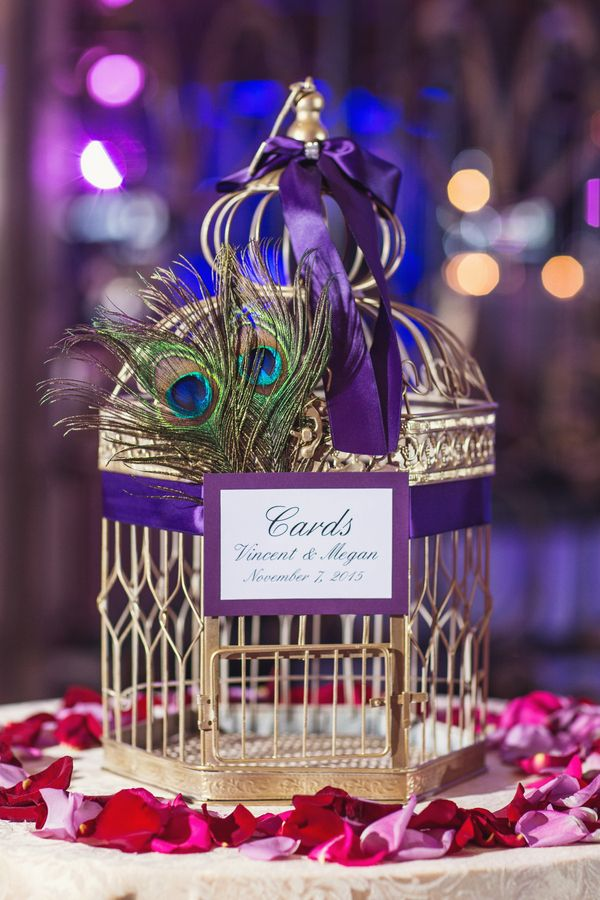 purple themed bridal shower%0A Peacock Inspired Wedding by Vanessa Joy Photography  Purple Wedding  DressesPeacock Themed