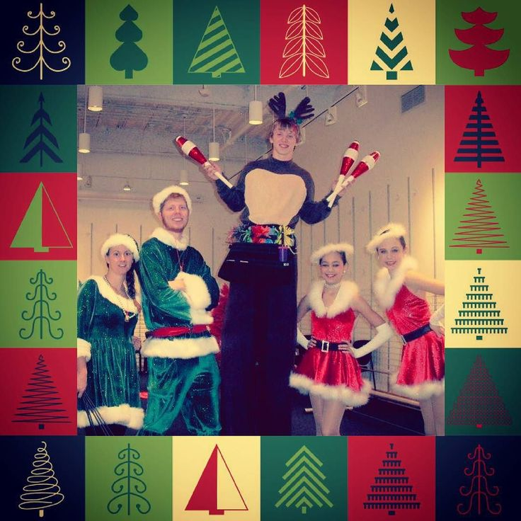 Let us bring more joy to your holiday party! Dates are booking up fast! Schedule soon!  #holiday #party #entertainment #christmas #elves #reindeer #santa #cincinnati #circus #fun #kitty #juggler #balloonanimals #stilts #talent #awesome #elf #santaslittlehelper