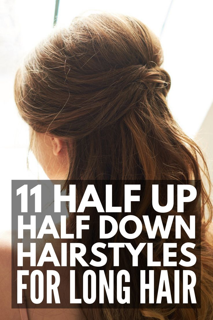 Running Late? 29 Half Up Half Down Hairstyles for Lazy Girls #hairtutorials Looking for simple yet stylish looks for days you're running late? This co...