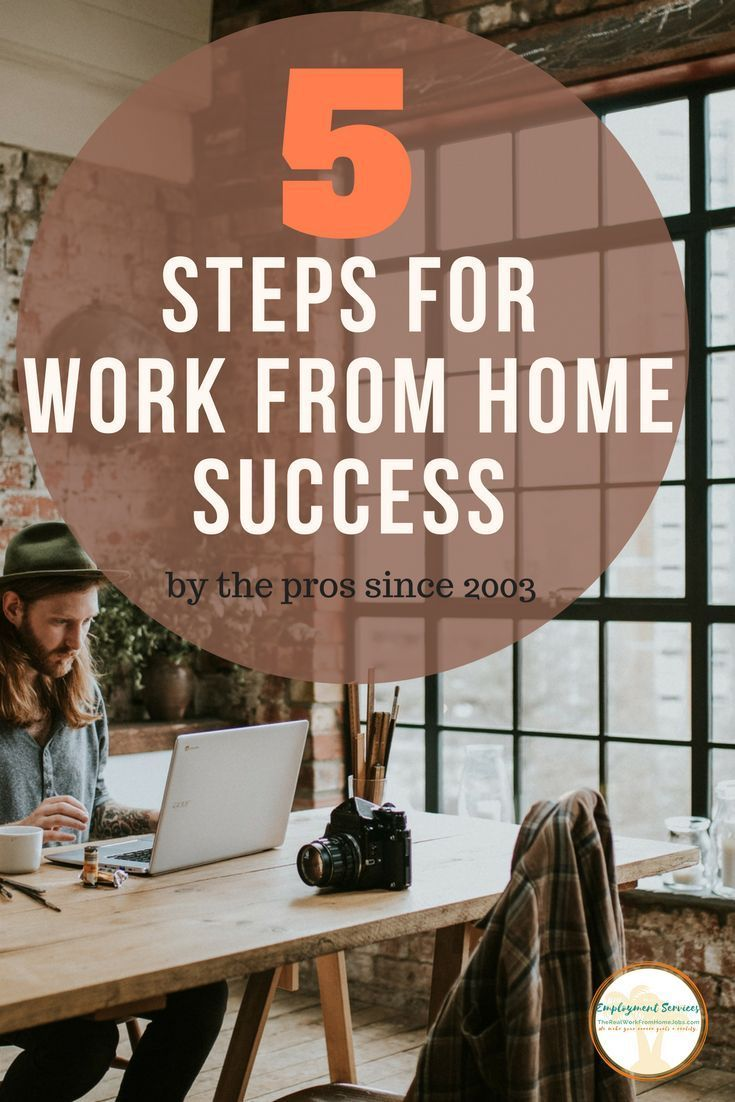 5 Step Work From Home Guide 1007 best