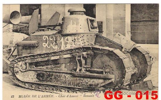 tanque de la primera guerra mundial