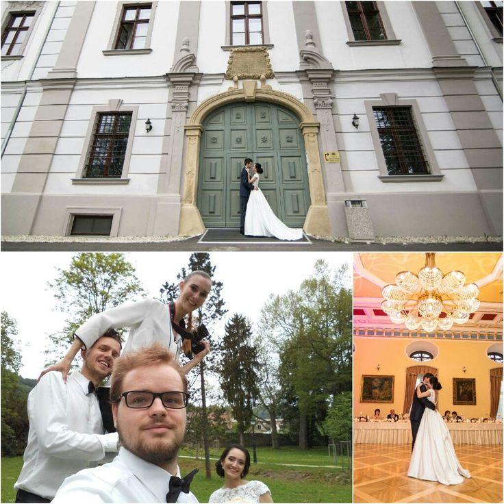 Krásna svadba ☺ v krásnom kaštieli 🏰 #považskábystrica #hotelginoparkpalace #namornik #ksmil  #wedding #svadba #3