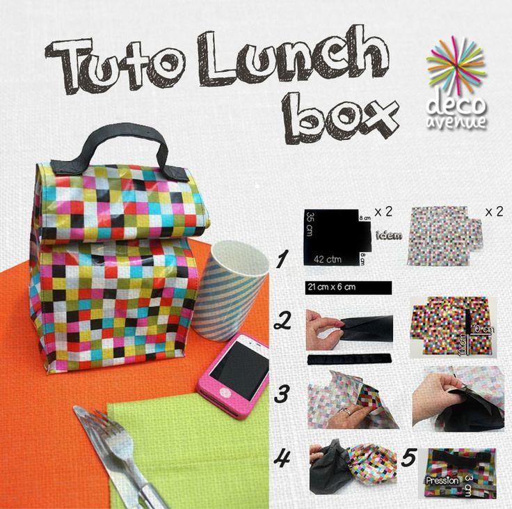 Tuto de la Lunch box by DécoAvenue.