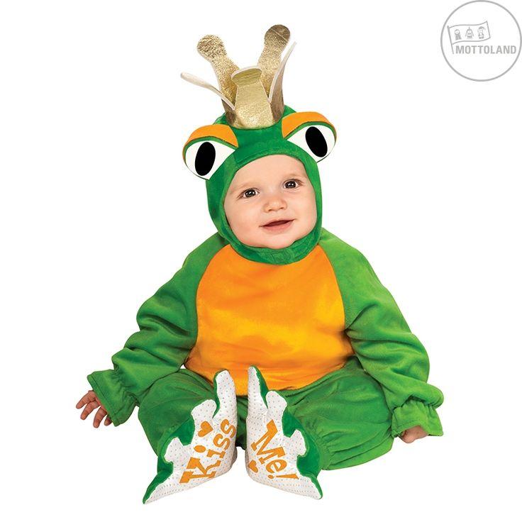 Baby Kostüm Froschkönig für Fasching
