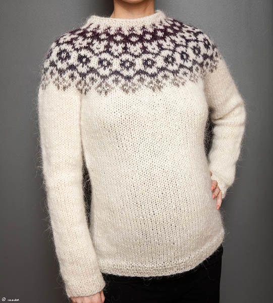 Icelandic Lopi Sweater by unneva on Etsy, $150.00