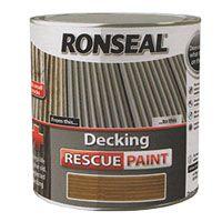 Ronseal Decking Rescue Paint 2.5L | Ronseal Decking Paint Colours